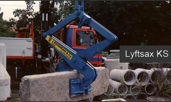 Lyftsax KS350 Stensax